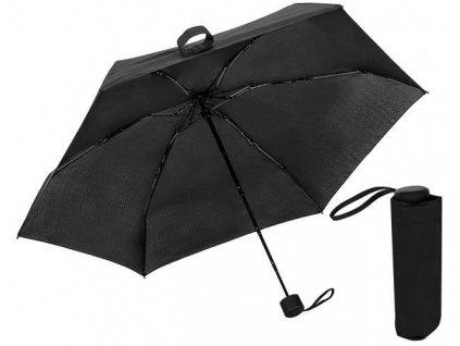 Skládací Mini deštník 90cm, černý, 9114