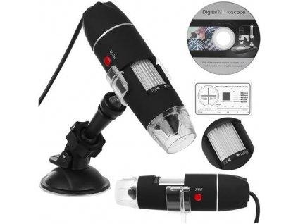 USB digitální mikroskop k PC, 50-1600x, 9295