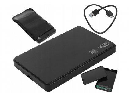 "Pouzdro pro SATA HDD 2,5 "", USB 3.0, 9309"