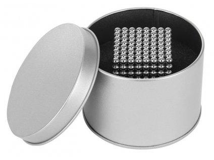 NeoCube 5mm, 512 magnetů, stříbrná, 9452
