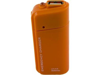USB nabíječka na AA baterie pro mobilní telefony, KX9064