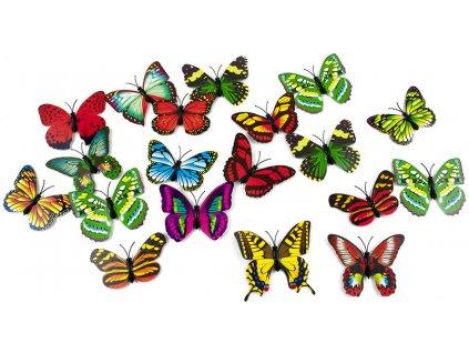 Magnety 3D motýl 1ks, KX9264
