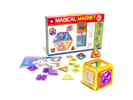 Magnetická stavebnice Magical Magnet 20 dílů, KX9679