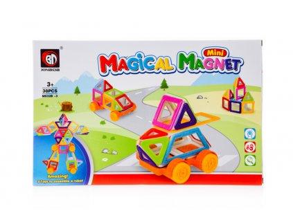 Magical Magnet M032B Magnetická stavebnice 3 - 38 dílů, KX9815