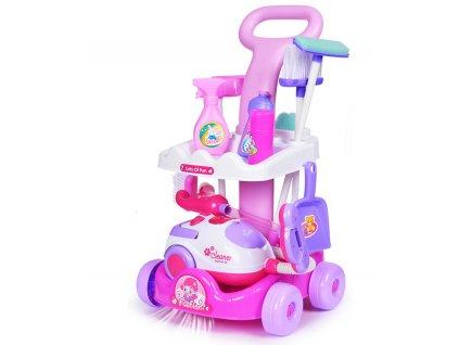 Dětský uklízecí vozík Magical PlaySet, KX7632