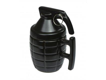 Hrnek Granát 350 ml, černá, KX7867