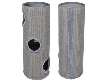 pol pl Drapak dla kota tuba 100cm szara 11734 9