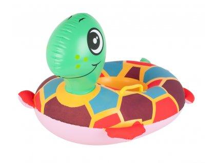 Nafukovací kruh želva pro děti 45x60cm, KX6786
