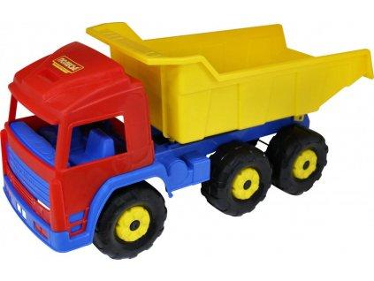WADER 44402 Auto sklápěčka s návěsem 70x26x33cm, KX6882