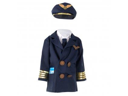 Dětský kostým Pilot, KX6921