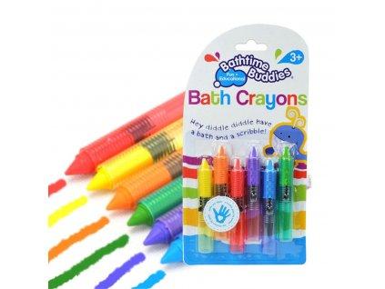 Pastelky mýdlové do vany omyvatelné, 6 barev, KX7284