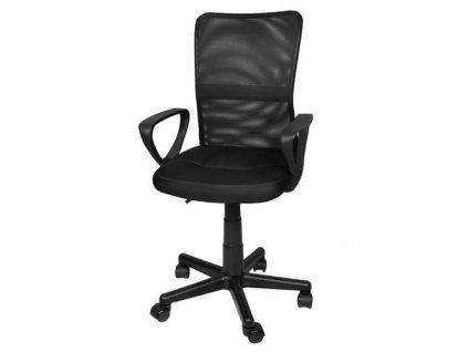 Kancelářská židle EASY, černá, 8986