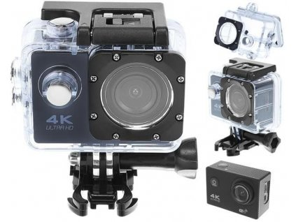 Kamera 4K ULTRA HD, Wifi 32GB, černá, 9101