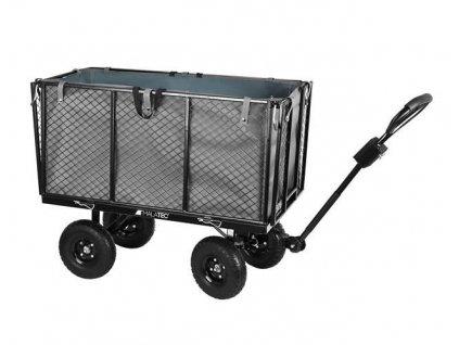 Malatec Zahradní vozík s výklopnými boky vysoký nosnost 350 Kg, 9039