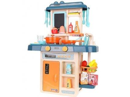 ISO 9570 Dětská kuchyňka se zvuky a tekoucí vodou modrá