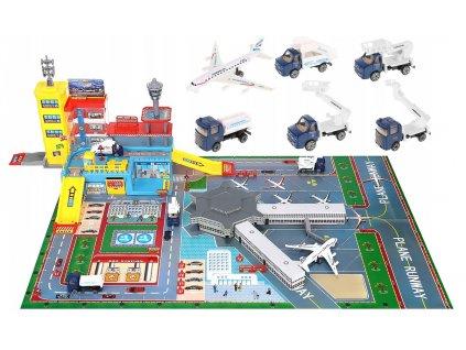 Dětské letiště a odbavovací set, 9507