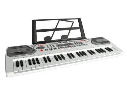 Elektronické klávesy 54 kláves, bílá, 9988