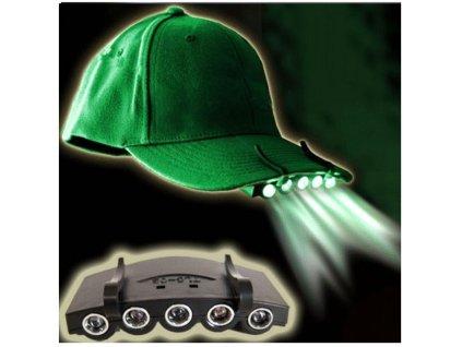 Světlo na kšilt čepice, ZD54