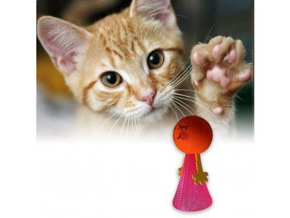 Skákací míček pro kočky 7703