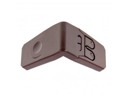 Bezpečnostní zábrana na skříně 1 ks, hnědá, KX7492_1