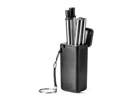 eng pl Stainless steel drinking straws 2 pcs set brush 2050 7
