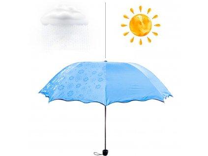 Magický deštník - modrý