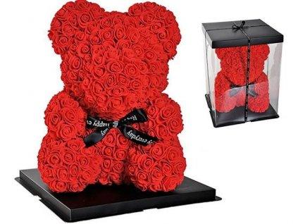 Medvěd z růží 43cm, 10291