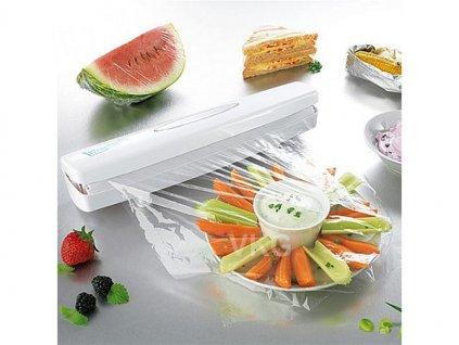 Řezačka potravinové folie, bílá, 15261