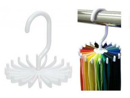 Otočný věšák na kravaty a opasky