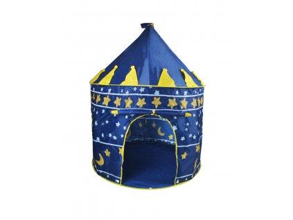 Stan pro děti HRAD, modrý, 1163