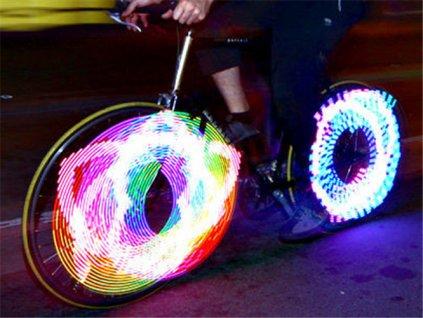 LED světlo do výpletu kola, 3649