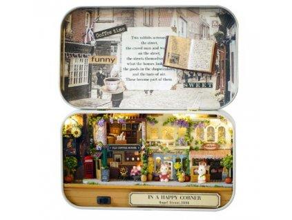 Stavebnice miniaturní domeček Happy Corner, KX6530_3