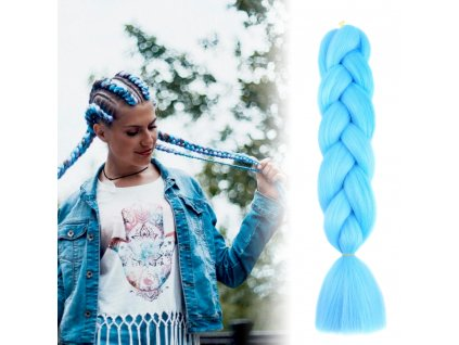 Vlasový příčesek - modrý