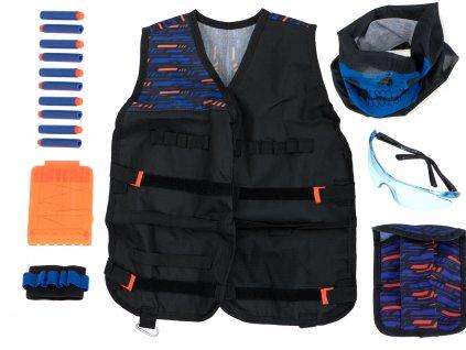 Taktická vesta Nerf II s příslušnstvím, KX6471