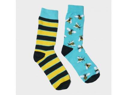 Veselé ponožky - včela