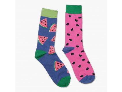 Veselé ponožky - meloun