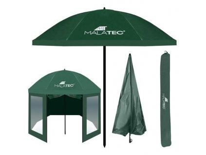 Rybářský deštník 240cm zelený, 10139 II Jakost