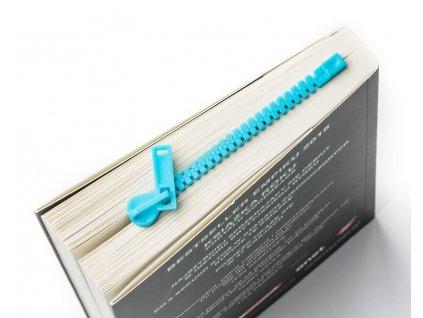 eng pl Zipper book mark blue 1505 2