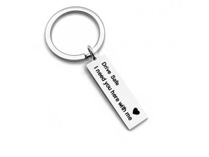 eng pl Keychain with plate Drive Safe 2121 2