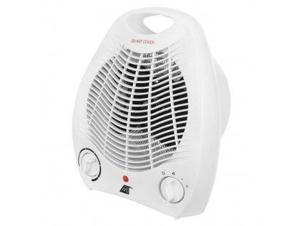Teplovzdušný ventilátor 2000W bílý, 10996