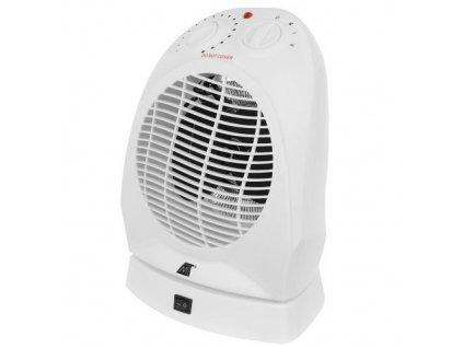 Teplovzdušný ventilátor 2000W bílý, 11006