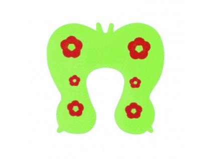 Zarážka do dveří proti skřípnutí prstů Motýl, KX9535_3