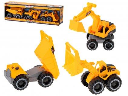 Stavební stroje 3ks, KX6381