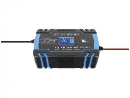 Automatická nabíječka baterií 12V/8A, 24V/4A, 11162