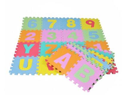 Pěnové puzzle 30x30 cm, 4693