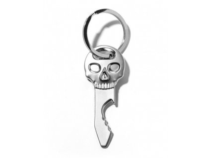 Přívěsek na klíče - otvírák lebka