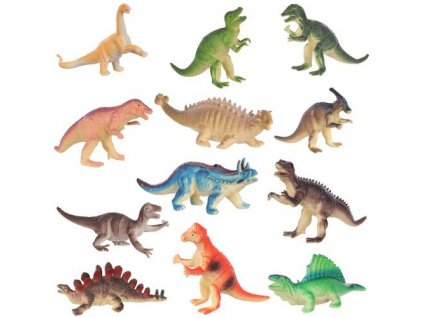Figurky Dinosauři sada 12 ks 10-13 cm, 11550
