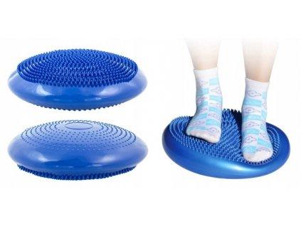 Fitness balanční podložka, modrá, 1269