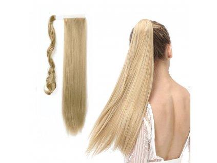 Příčesek do vlasů culík - plavá blond