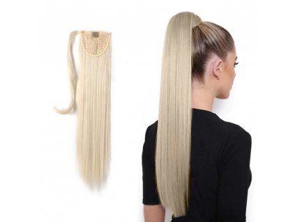 Příčesek do vlasů culík - blond